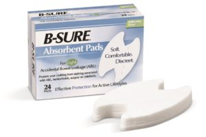 B-Sure absorbent pads from Birchwood Laboratories