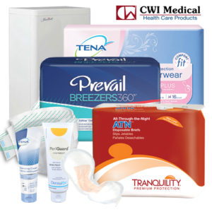 CWI Medical incontinence products
