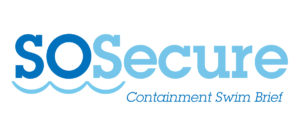 SoSecure containment swim brief logo