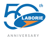 LABORIE 50th logo
