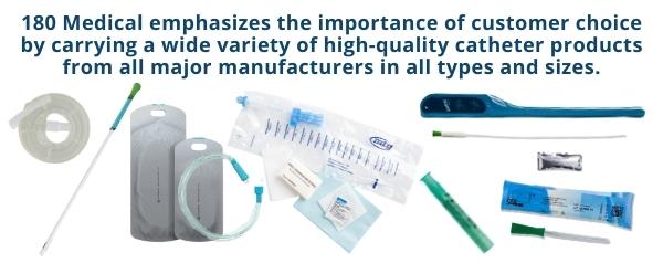 180 medical catheter supplies