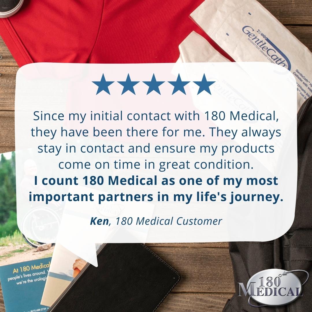 180 Medical customer review