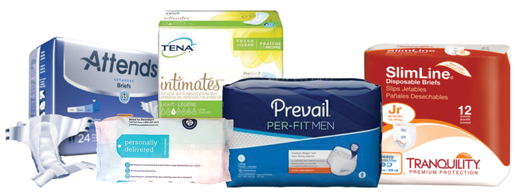 180 Medical incontinence products