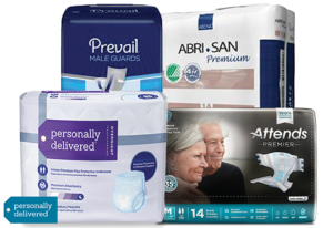 Personally Delivered incontinence products